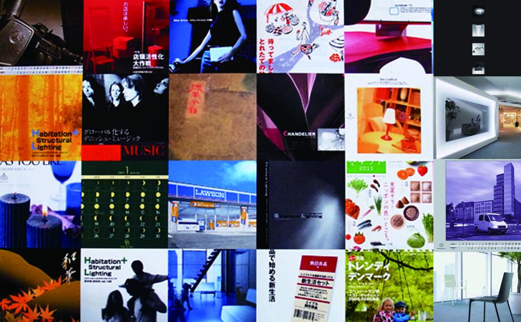 カタログ・パンフレット・広告など、様々なグラフィックを制作しています。<br /> 異なる文化に触れることも仕事に活かせると考え、毎年社員旅行に出かけています。